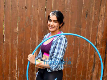 Adah Sharma spotted at dance class in Bandra