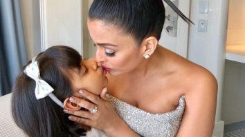 Aishwarya Rai Bachchan gets trolled for kissing her daughter Aaradhya on the lips
