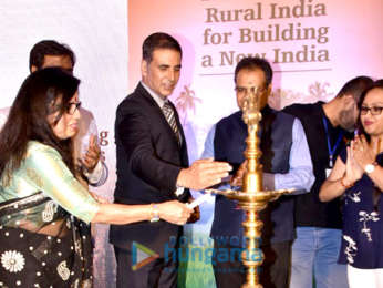 Akshay Kumar attends the New India Conclave