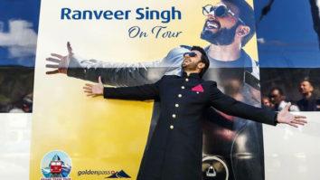 An excited Ranveer Singh inaugurates 'Ranveer on Tour' train in Switzerland-1