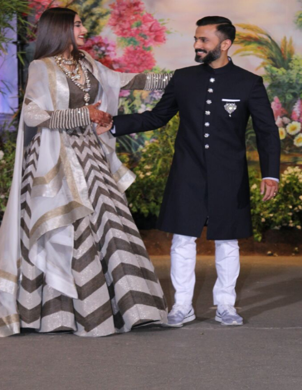 Anand Ahuja - Sonam Kapoor wedding reception