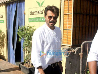 Anil Kapoor snapped at Farmers' Cafe