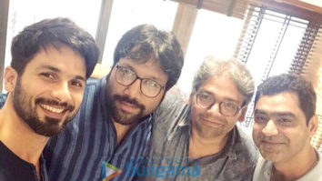 On The Sets Of The Movie Arjun Reddy Remake