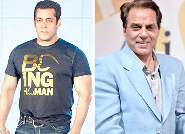 DEADLY COMBO! Race 3 star Salman Khan and veteran actor Dharmendra will come together this Eid