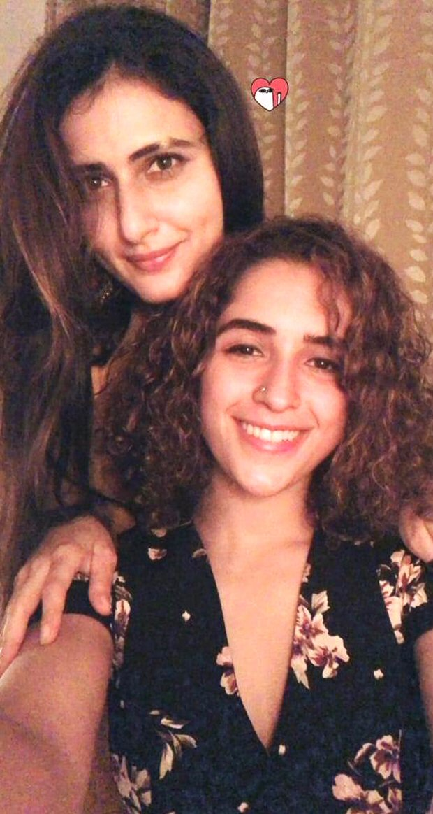 Dangal girls Fatima Sana Shaikh and Sanya Malhotra have a girl's night