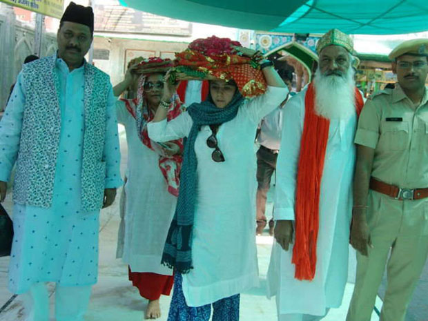 Ekta Kapoor recently visited Ajmer Sharif to seek blessings for Veere Di Wedding
