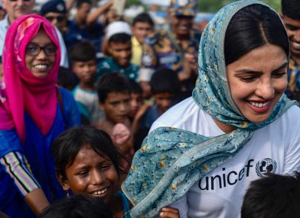 Priyanka Chopra visits Bangladesh as UNICEF ambassador, appeals fans to support Rohingya rehabilitation