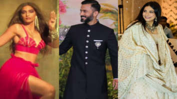 Sonam Kapoor Ahuja, Anand Ahuja and Rhea Kapoor nail the white sneaker trend with ethnics