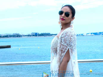 Huma Qureshi attends India Pavilion at 71st Cannes Film Festival