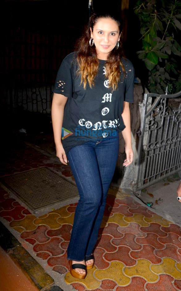 Huma Qureshi spotted at a cafe in Bandra