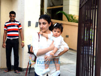 Jacqueline Fernandez and Soha Ali Khan spotted in Bandra