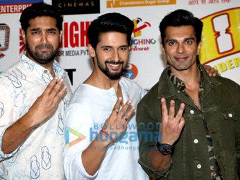 Karan Singh Grover, Ravi Dubey, Kunaal Roy Kapur, Priya Banerjee, Sajid Wajid promote 3DEV