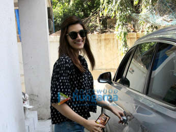 Kriti Sanon spotted at Maddock Films office