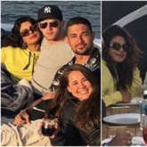 LOVE IS IN THE AIR! Priyanka Chopra gets COSY on a yacht with Nick Jonas