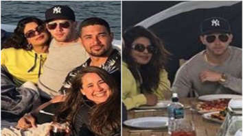 LOVE IS IN THE AIR! Priyanka Chopra gets COSY on a yacht with Nick Jonas