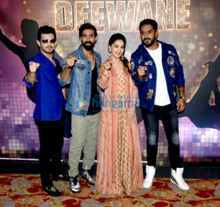 Madhuri Dixit shoots for the reality show Dance Deewane