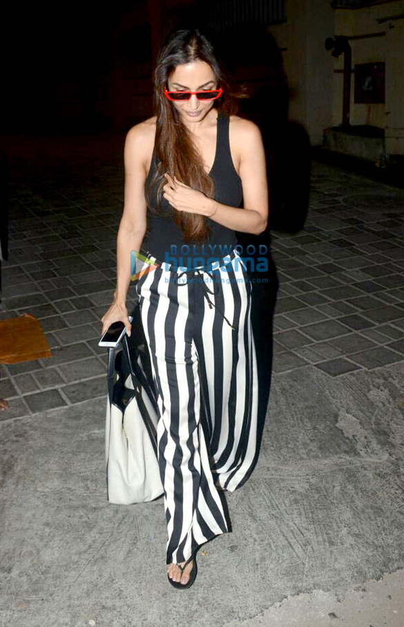 Malaika Arora spotted at Kerastase Paris salon in Bandra