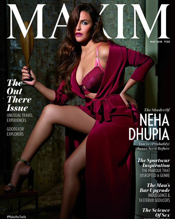 Neha Dhupia On The Cover Of Maxim