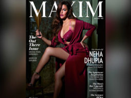 Neha Dhupia on the cover of Maxim India for May 2018