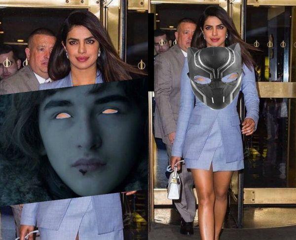 Priyanka Chopra TROLLED for her edgy blue blazer, Twitter goes crazy making memes