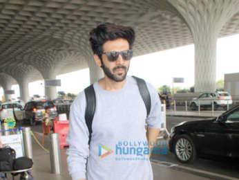 Ranbir Kapoor, Karan Johar, Shahid Kapoor, Dia Mirza and others snapped at the airport