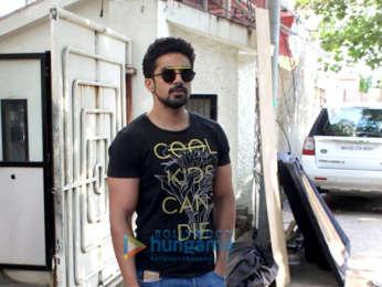 Saqib Saleem spotted at Sunny Super Sound in Juhu
