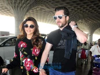 Shama Sikandar snapped at the airport