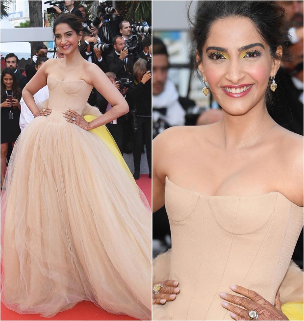 Sonam Kapoor Cannes 2018 Vera Wang Day 2