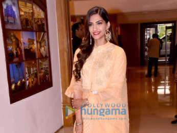 Sonam Kapoor Ahuja, Swara Bhaskar promote Veere Di Wedding at Sun n Sand in Juhu