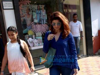 Taimur Ali Khan, Twinkle Khanna and Karan Singh Grover spotted at Bandra