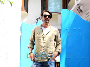 Team of 'Paltan' snapped at Olive restaurant