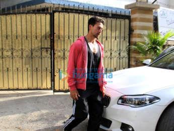 Tiger Shroff snapped in Mumbai