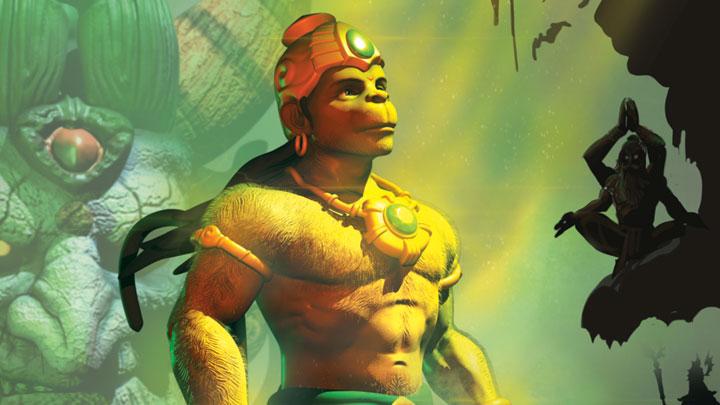 Trailer (Hanuman Vs Mahiravana)