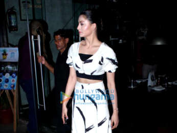 Urvashi Rautela spotted at Silver Beach Cafe