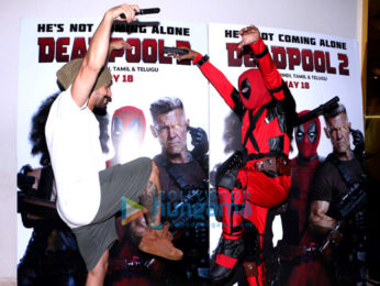 Varun Dhawan hosts a special screening of Deadpool 2