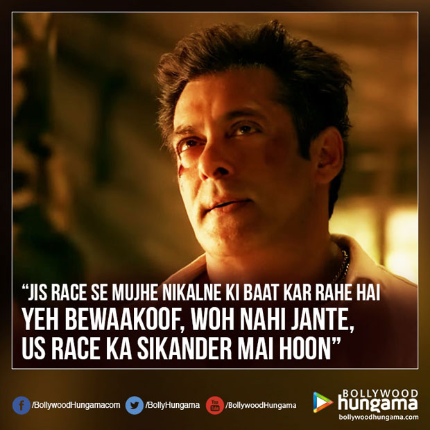 MAA KASAM! You can't miss these EPIC DIALOGUES from Salman Khan starrer RACE 3 trailer