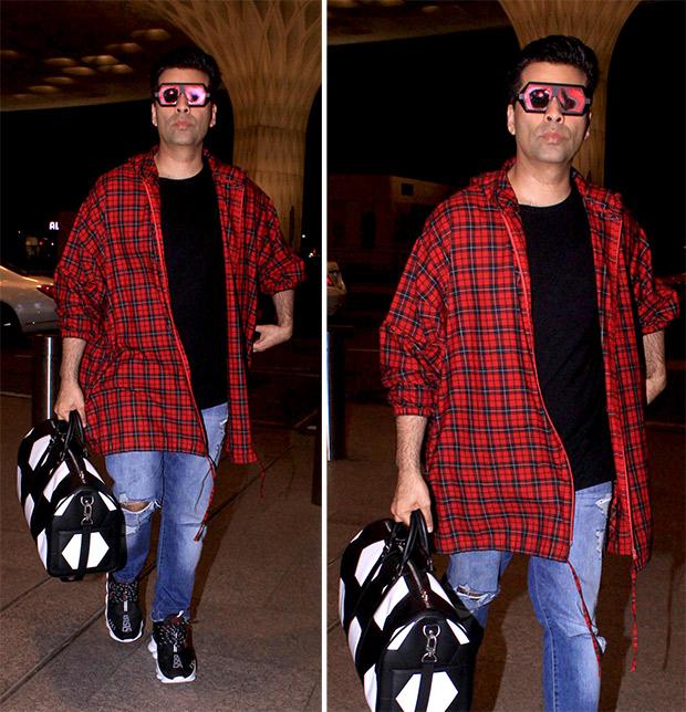 Airport Style - Karan Johar