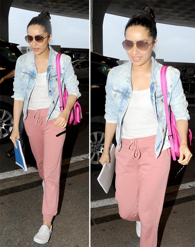 Airport Style - Shraddha Kapoor