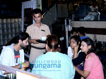 Ankur Bhatia snapped at Aroma Cafe