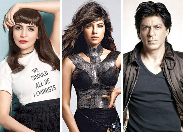 Anushka Sharma calls Priyanka Chopra a 'SURVIVOR' and Shah Rukh Khan 'WITTY'