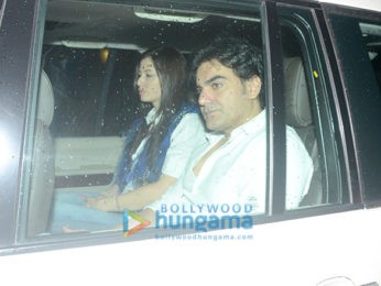 Arbaaz Khan snapped at Ramesh Taurani's residence