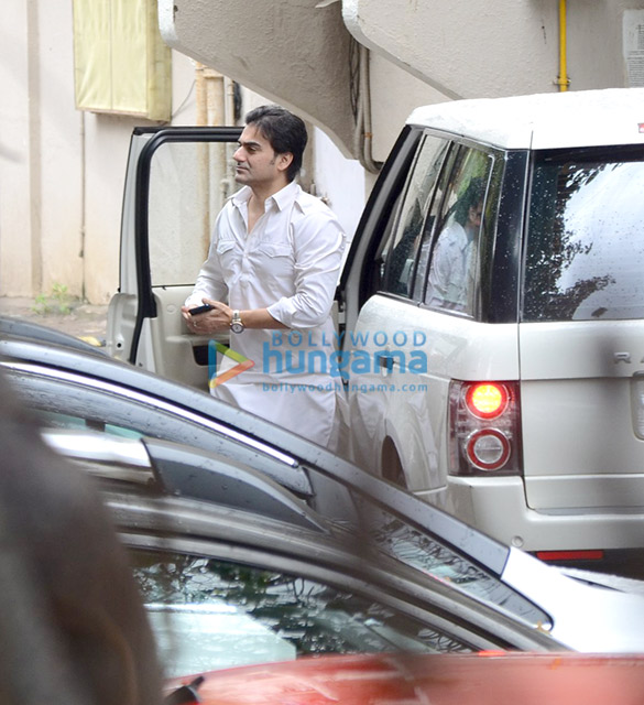 Arbaaz Khan snapped with a friend