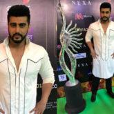 Arjun Kapoor goes for the monochrome vibe for IIFA Rocks 2018