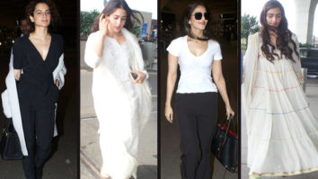 Celebrity Airport Style - Kangana, Sonam, Vaani and Sara