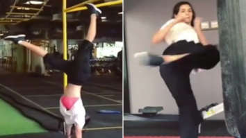 Disha Patani packs a punch with kickboxing and headstand