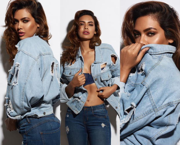 Esha Gupta denim on denim photoshoot 4