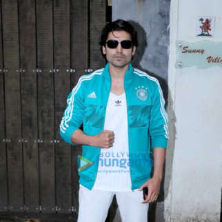 Gurmeet Choudhary spotted at Suny Super Sound in Juhu