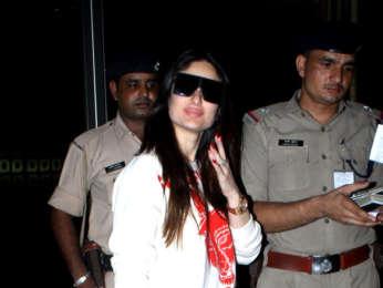 Kareena Kapoor Khan and Saif Ali Khan snapped at the airport (3)