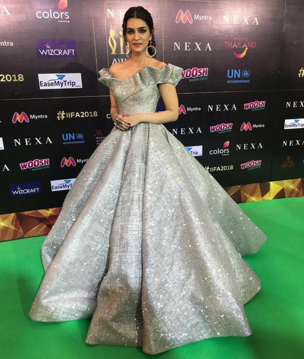 Kriti Sanon at IIFA 2018 Awards