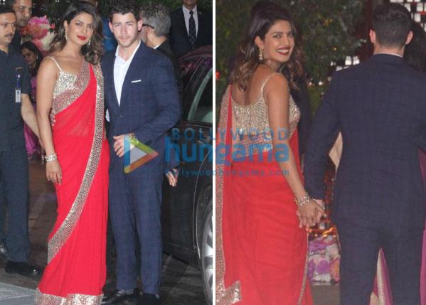 Priyanka Chopra - Nick Jonas and Shah Rukh Khan - Gauri Khan come under one roof at Akash Ambani - Shloka Mehta's engagement bash